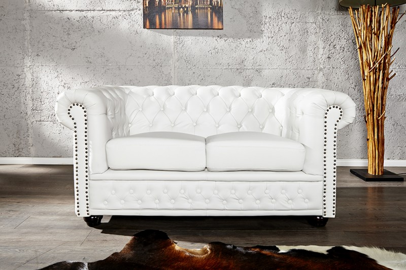 Sofa Chesterfield II white