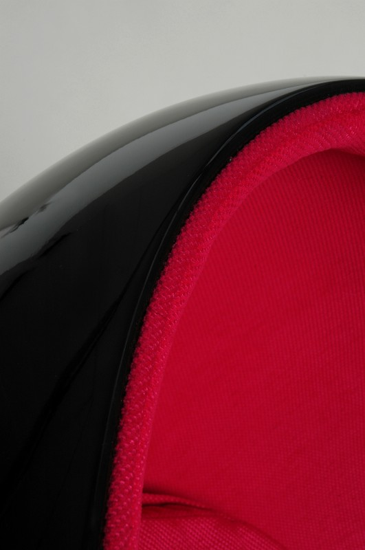 Fotel Space Egg Black&Red