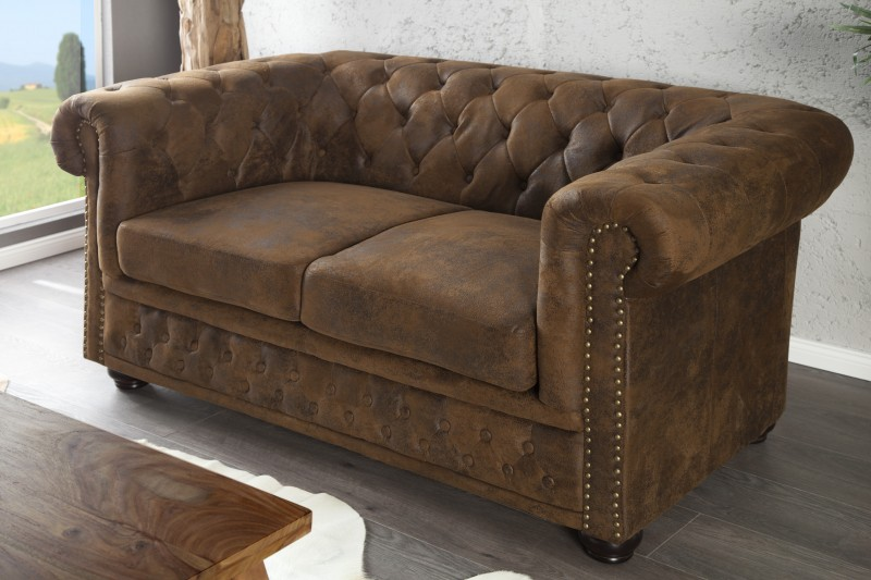 Sofa Chesterfield Antik Look II