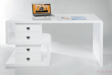 Biurko Club Desk Snake white