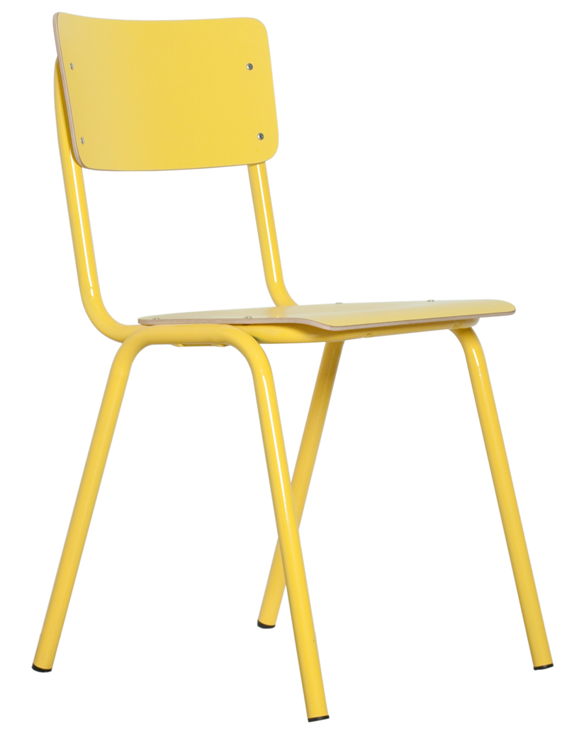 Krzesło Back To School HPL Yellow - 1008203