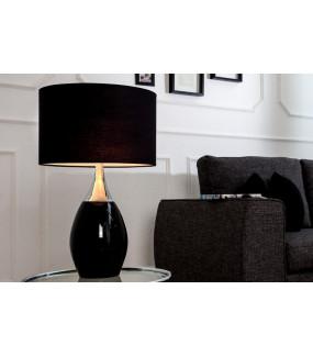 Lampa stołowa Carla 60cm czarna