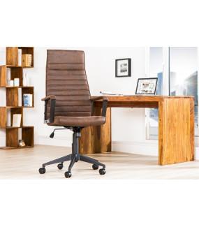 Krzesło Biurowe Lazio antyczny brąz