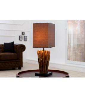 Lampa stołowa Driftwood Euphoria szara