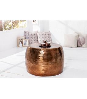 Stolik kawowy Orient 60cm miedziany