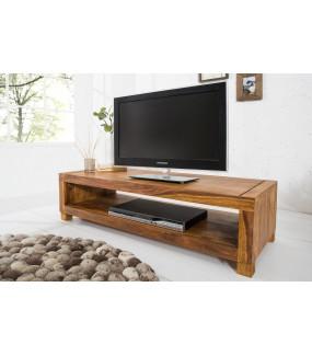 Stolik pod TV z otwartą półką do salonu w stylu nowoczesnym oraz klasycznym.