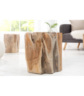 Stołek Drewno tekowe 45 cm