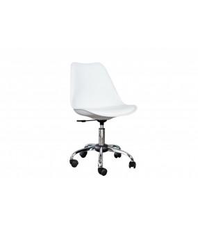 Krzesło biurowe Scandinavia białe