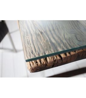 Blat szklany do ławy Barracuda 110x60cm
