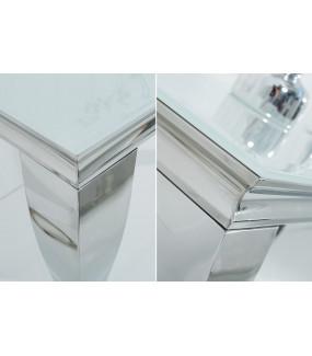 Konsola Modern Barock 140 cm biała