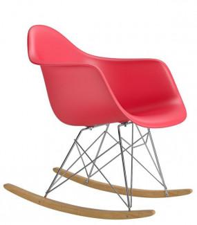 Krzesło bujane inspirowane RAR czerwone