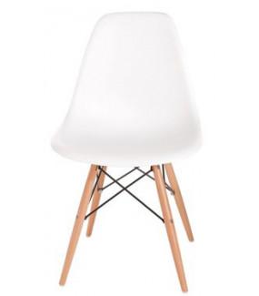 Krzesło Inspirowane DSW PC016W PP Białe
