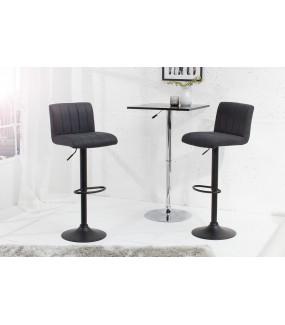 Krzesło barowe PORTLAND antyczny szary