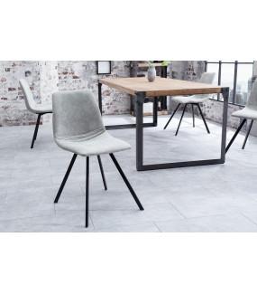 Krzesło Amsterdam Retro szare
