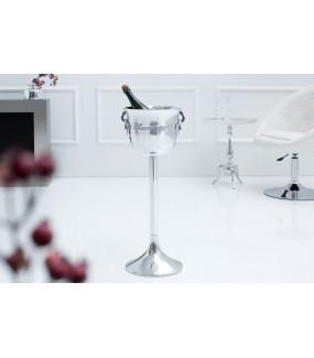 Misa na szampana 75cm srebrna