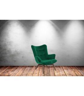 Fotel Angello zielony