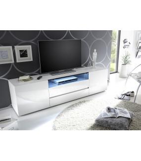 Stolik pod TV VICENZA 185cm biała