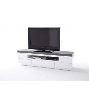 Stolik pod TV ATLANTA 175cm biały