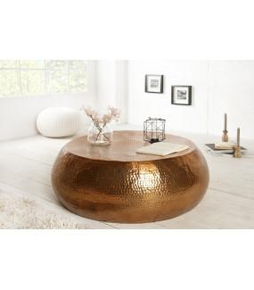 Stolik kawowy Orient 80 cm miedziany