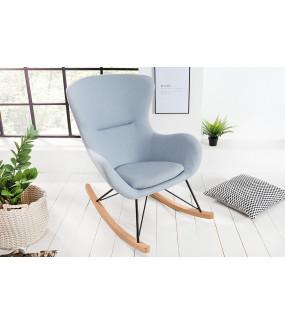 Fotel bujany Scandinavia Swing jasnoniebieski