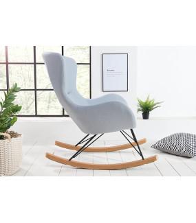 Nowoczesny fotel bujany