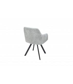 Krzesło Lucca jasnoszare