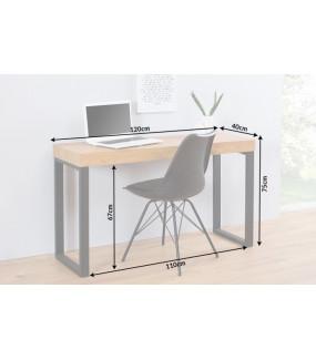 Biurko Black Desk 120cm dębowe