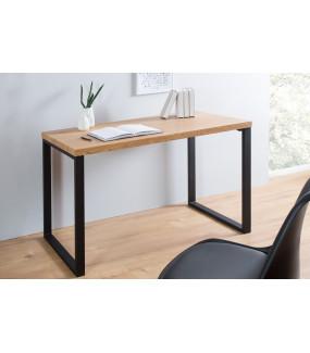 Biurko Black Desk 120 cm w kolorze dębowym do gabinetu