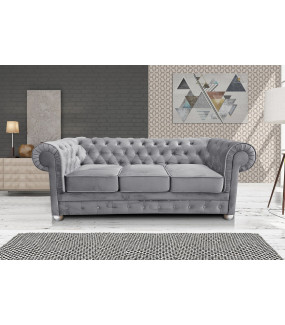 Sofa Chesterfield Modern Barock Clasic z funkcją spania do salonu