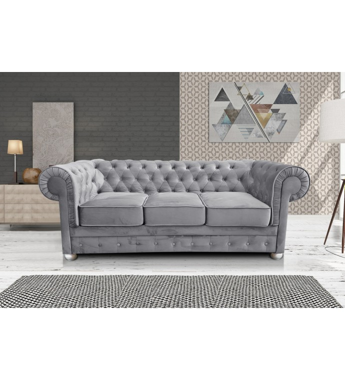 Sofa Chesterfield Modern Barock Clasic z funkcją spania do salonu
