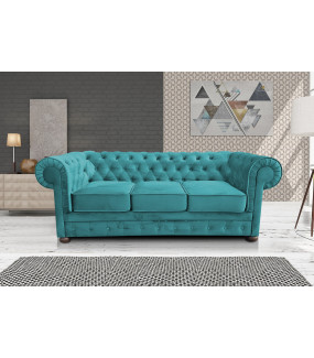 Sofa Chesterfield Modern Barock Clasic z funkcją spania