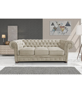 Sofa Chesterfield Modern Barock Clasic bez funkcji spania