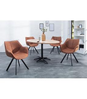 Krzesło Holenderski Retro antyczny brąz