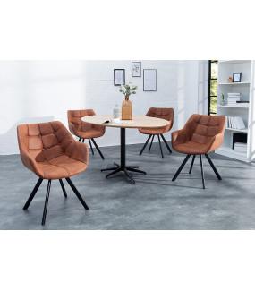 Krzesło Dutch Courturier antyczny brąz
