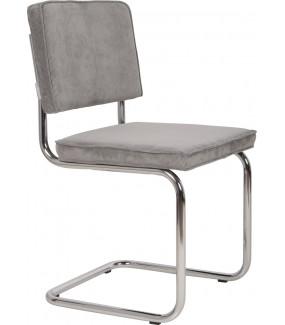 Krzesło Ridge Rib szare do biura