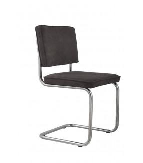 Krzesło Ridge Rib szare