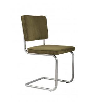 Krzesło Ridge Rib ciemnozielone