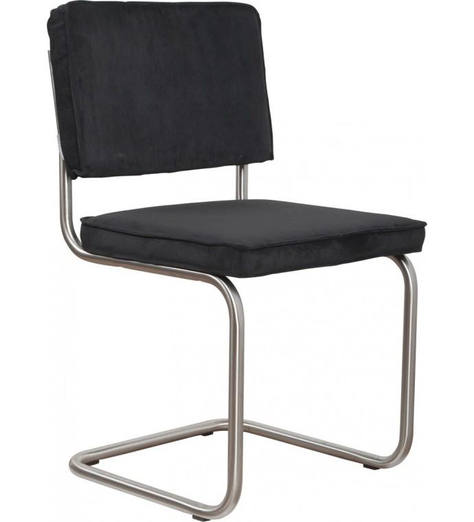 Krzesło Ridge Brushed czarne