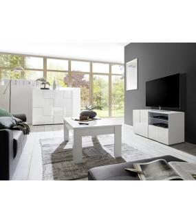 Stolik pod TV DAMA 120 cm biały