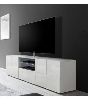 Stolik pod TV DAMA 180 cm biały