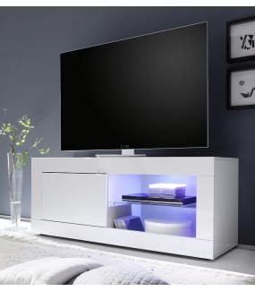 Stolik pod TV BASIC 140 cm biały