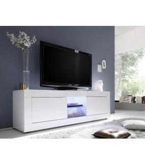 Stolik pod TV BASIC 180 cm biały