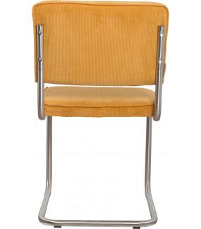 Krzesło Ridge Brushed żółte