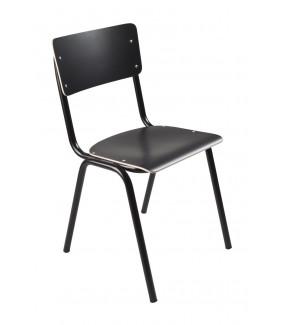 Krzesło Back To School HPL Czarne