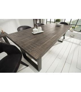 Stół do jadalni Iron Craft 160 cm szary Mango