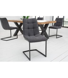 Krzesło MIAMI ciemnoszare
