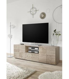 Stolik pod TV MIRO 181 cm dąb sonoma
