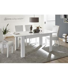 Stół MIRO 137 cm - 185 cm biały
