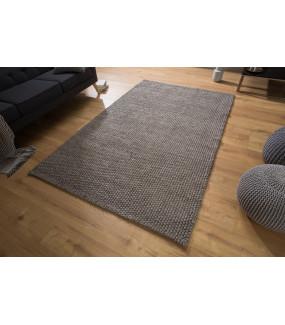 Dywan Wool 250 cm x 155 cm antracytowy