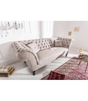 Sofa Euphoria 230 cm greige aksamit
